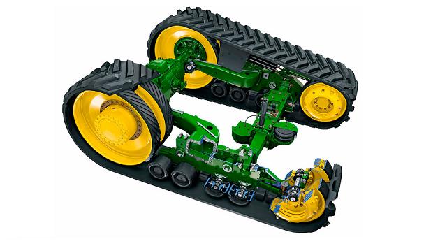 основные части гусеничного трактора фото